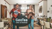 Nieuwe uitzicht voor GeoTea van Jolien en Jenno