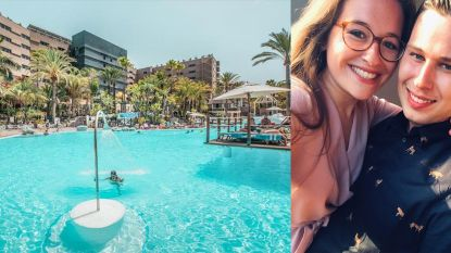 """Koppeltje uit Roosdaal moet mogelijk honderden euro's bijpassen in Gran Canaria: """"Genieten van onze eerste reis samen lukt momenteel niet"""""""