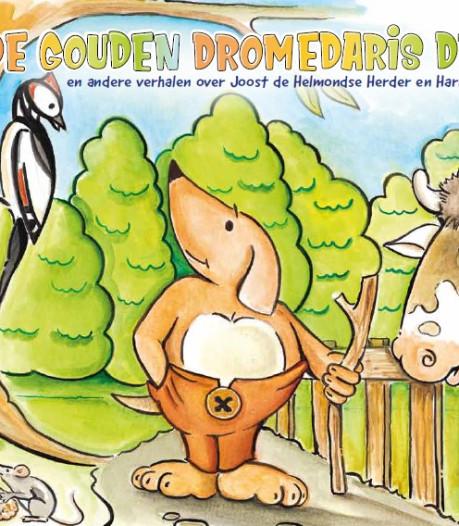 Nieuw Helmonds kinderboek over een gouden dromedarisdrol en vogel Skel de Wiewouw