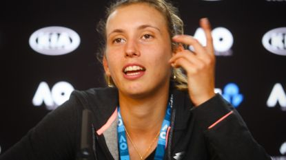 """Mertens speelt vannacht haar kwartfinale: """"Kim zei me om te focussen op het mentale aspect"""""""