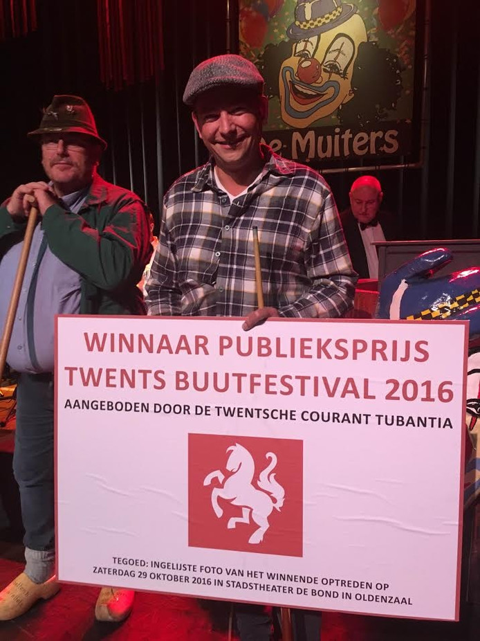 Jeroen Bekke won ook de publieksprijs.