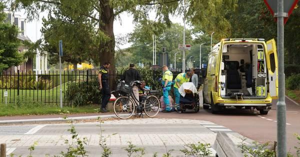 Fietser gewond door botsing met andere fietser in Kaatsheuvel.