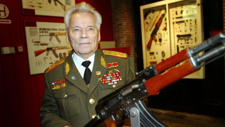 Generaal bd M.T. Kalashnikov Beeld anp