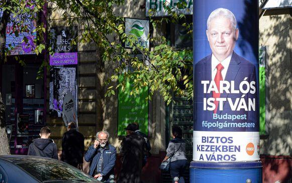Istvan Tarlos is al negen jaar burgemeester van Boedapest.