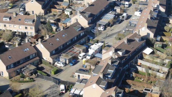 De wijk is Zwolle Zuid waar de granaten zijn afgegaan.