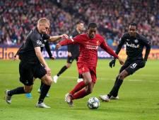 LIVE | Kansen over en weer in open duel tussen Liverpool en Salzburg