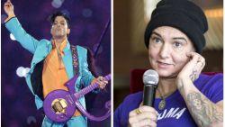 """Politiedossier over dood Prince bevat onthullende getuigenis van Sinéad O'Connor: """"Hij gebruikte vaak drugs en ging agressief om met vrouwen"""""""