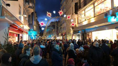 Lichtfestival in Oostende feestelijk geopend