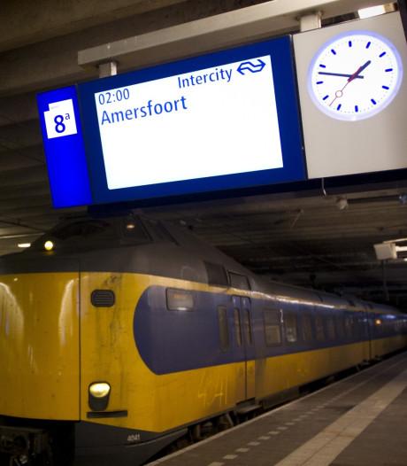 Amersfoorters in de toekomst mogelijk ook 's nachts met de trein naar Amsterdam