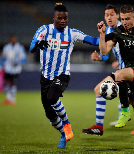Dapper FC Eindhoven houdt stand tegen Sparta
