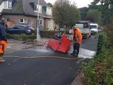 Meerdere straten in Eefde zonder water door leidingbreuk