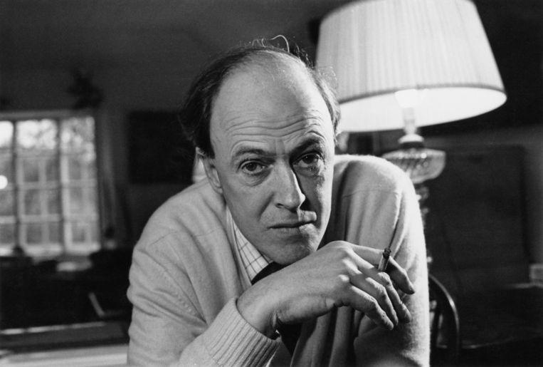 Roald Dahl in 1971. Beeld Getty Images