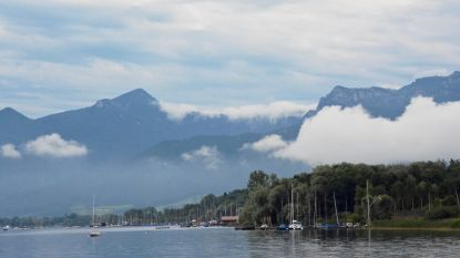 Enorme reddingsoperatie voor recreanten op Beiers meer