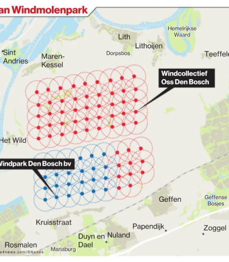 Inwoners mogen meepraten over te maken plan windmolenpark in Rosmalense polder