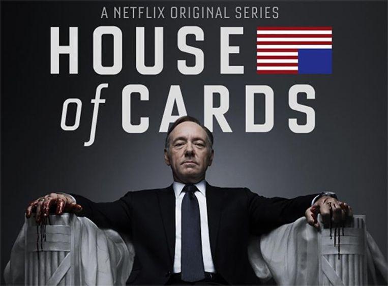 'House of Cards' slaat vooral in Europa aan.