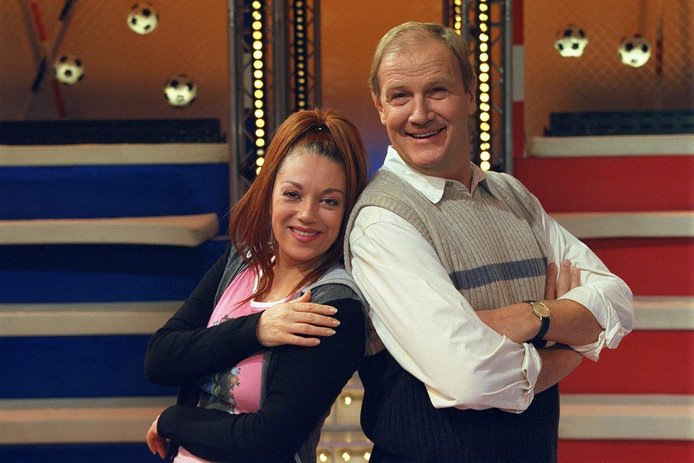 Sylvia Millecam en Marnix Kappers in Knoop in je zakdoek (1999).