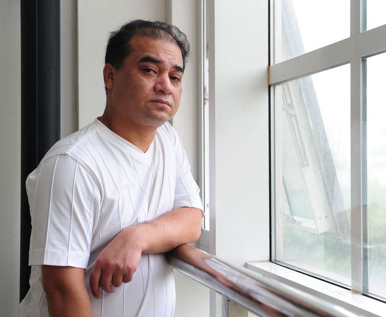 Ilham Tohti in Beijing.  Beeld null