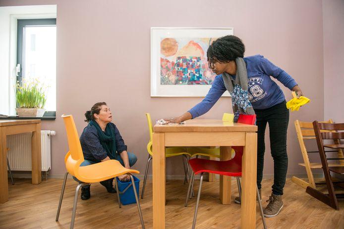 Via het project Baanbrekend Drechtsteden zijn inwoners met een handicap onder meer aan het werk gekomen in het Ronald McDonaldhuis in Rotterdam.