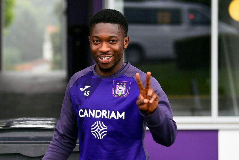 Francis Amuzu verlengde zijn contract bij Anderlecht.