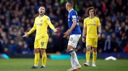 Chelsea en Hazard doen slechte zaak in de strijd om Champions League-ticket