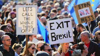 Grootste betoging in 15 jaar: bijna 700.000 Britten op straat voor nieuw referendum brexit