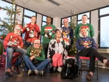 Honden, kantoortijgers en baby's: de beste foto's van de Foute Kersttruiendag