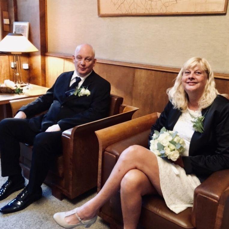 Alberto Zielman en Wendy Abramsen Beeld Margriet Oostveen