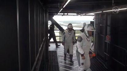 Historische lancering Crew Dragon afgevoerd wegens slechte weersomstandigheden. Zaterdag nieuwe kans