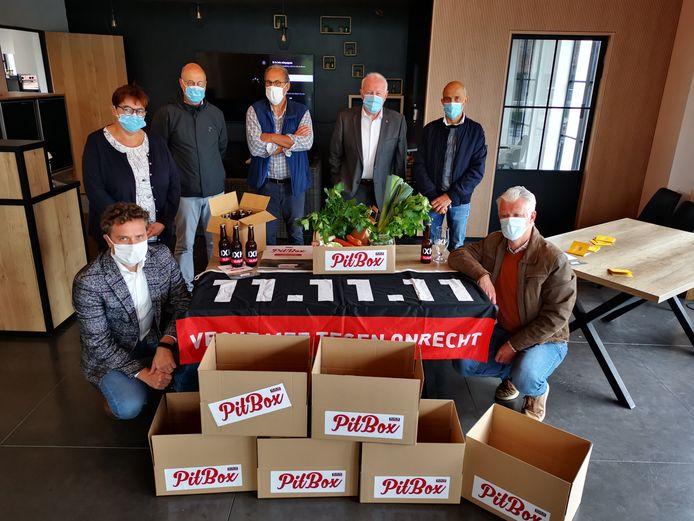 11.11.11 Pittem -Egem bij de lancering van de 'Pitbox'