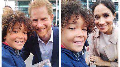 Droom van Max (10) komt uit: hij verovert selfies met prins Harry en Meghan Markle