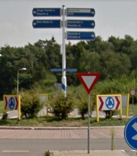 Reclame mag op rotondes in Wierden en Enter