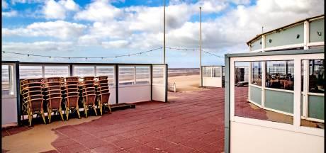 Het is rustig dit weekend op de Nederlandse stranden