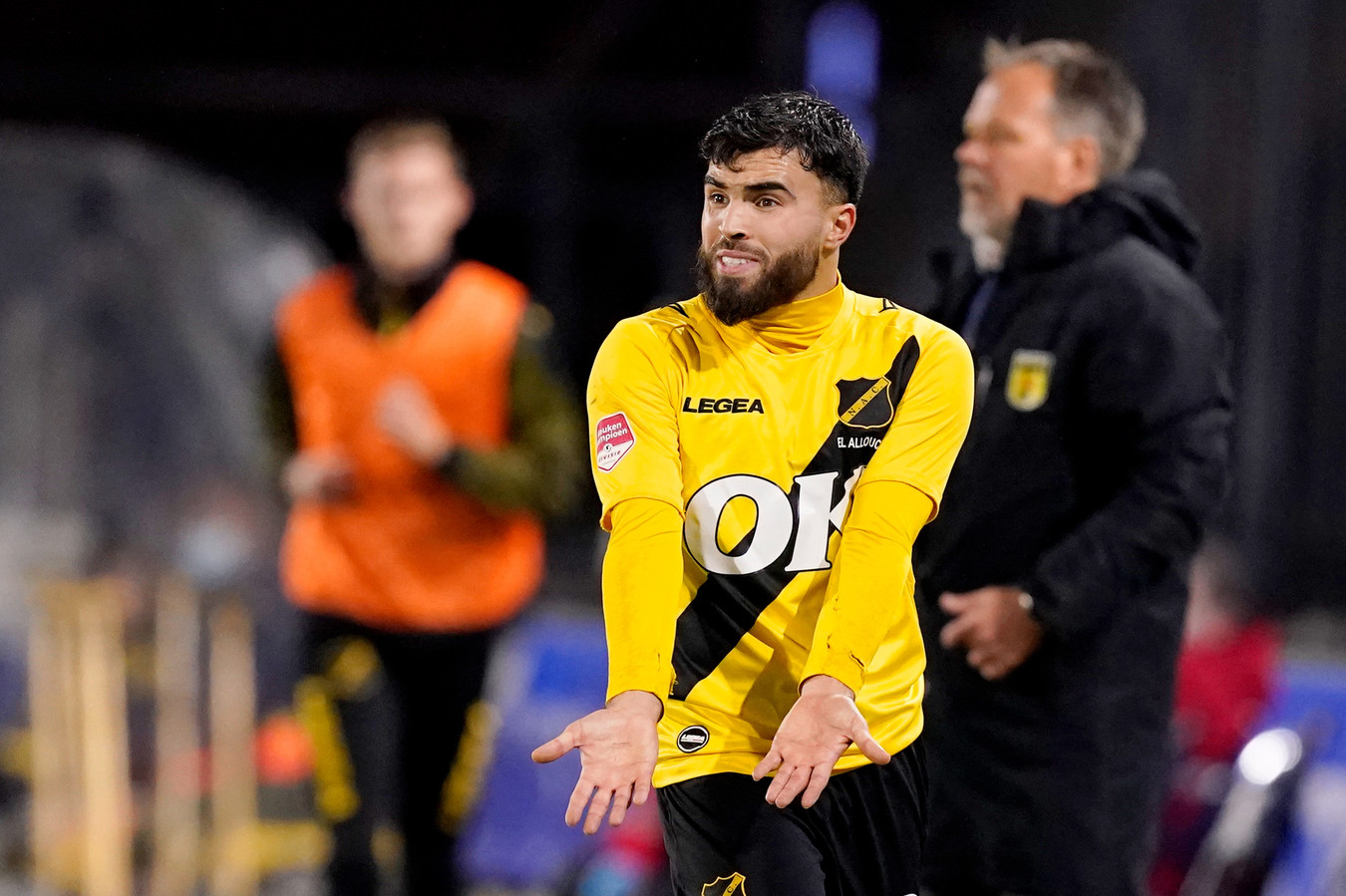 NAC-middenvelder Mounir El Allouchi.