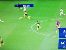 Een waanzinnige sprint en de bizarre cijfers van Haaland