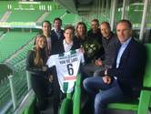 Zoon Erwin van de Looi tekent profcontract bij FC Groningen