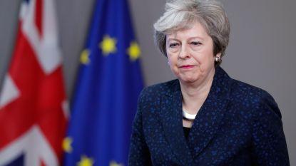 Britse premier Theresa May wil opnieuw meer tijd voor brexitdeal