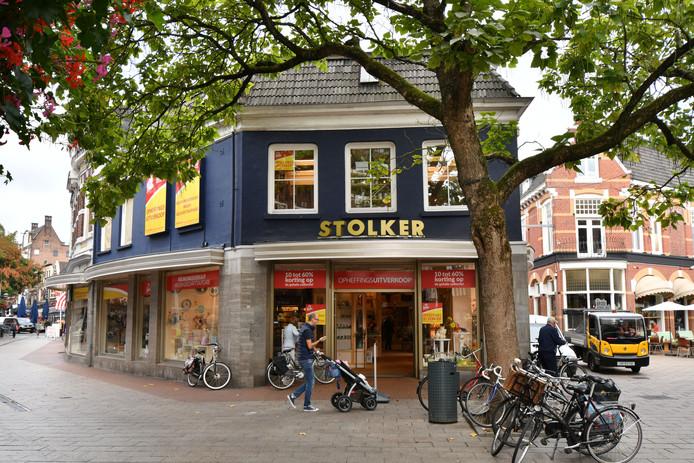 De entree van Stolker.