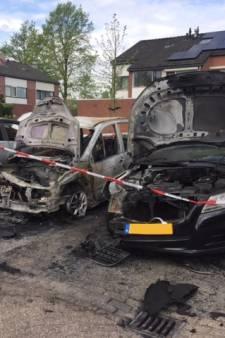 Oldenzaalse buurt opgeschrikt door drie autobranden: 'Zo sneu'