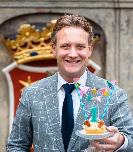 Burgemeester Pieter Verhoeve zit een jaar op de Goudse troon: 'Deze stad is een soort mini-Nederland'