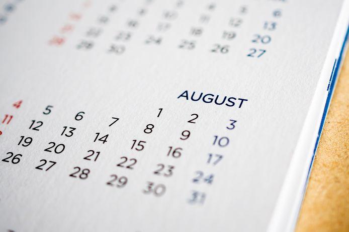Agenda uitjes augustus 2020
