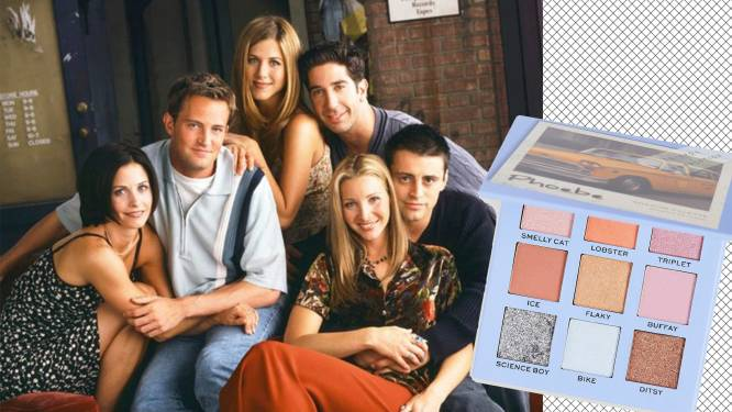 Phoebe, Monica en Rachel in een doosje: Revolution Beauty lanceert 'Friends'-make-upcollectie