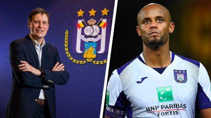 """""""Anderlecht leefde de voorbije jaren serieus boven zijn stand"""": Kompany en CEO Van Eetvelt gaan geen onderwerp uit de weg in dubbelinterview"""
