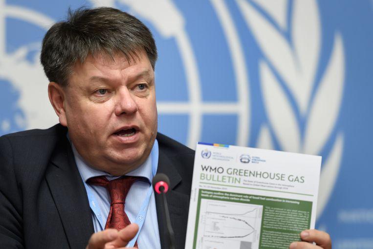 WMO-secretaris-generaal Petteri Taalas.