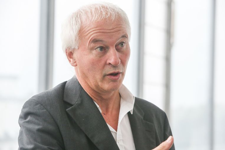 Grondrechtenactivist Raf Verbeke.