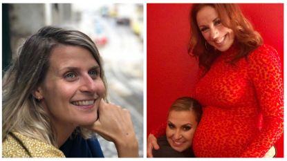 SHOWBITS. Eva Daeleman toont haar onzekerheden en Anastacia knuffelt de babybuik van Natalia