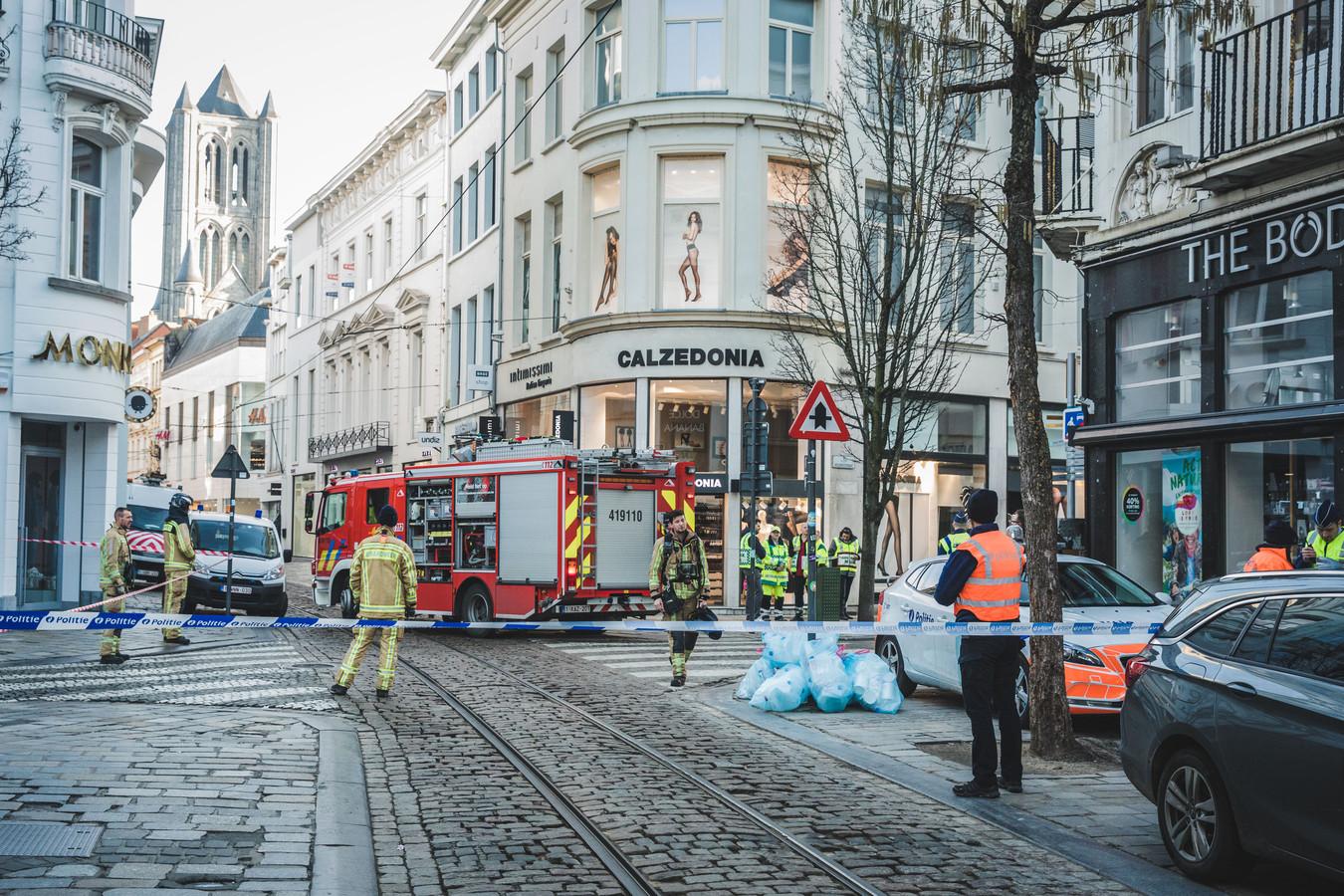 Het gaslek in de Veldstraat.