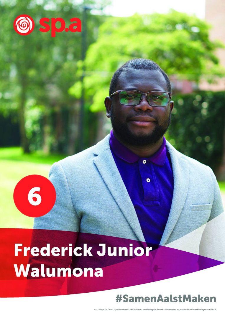 Frederick Junior Walumona stond normaal gezien op 6.
