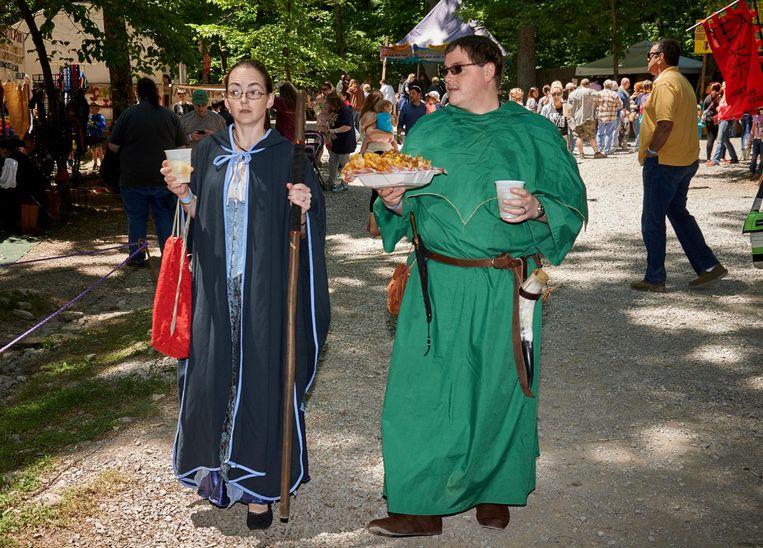 Middeleeuwers waren goede eters. Beeld Theo Stielstra