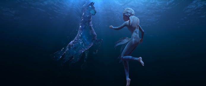 Nokk, le cheval fait d'eau.