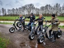 Geruisloze 'easy rider' zoeft door Maas en Waal